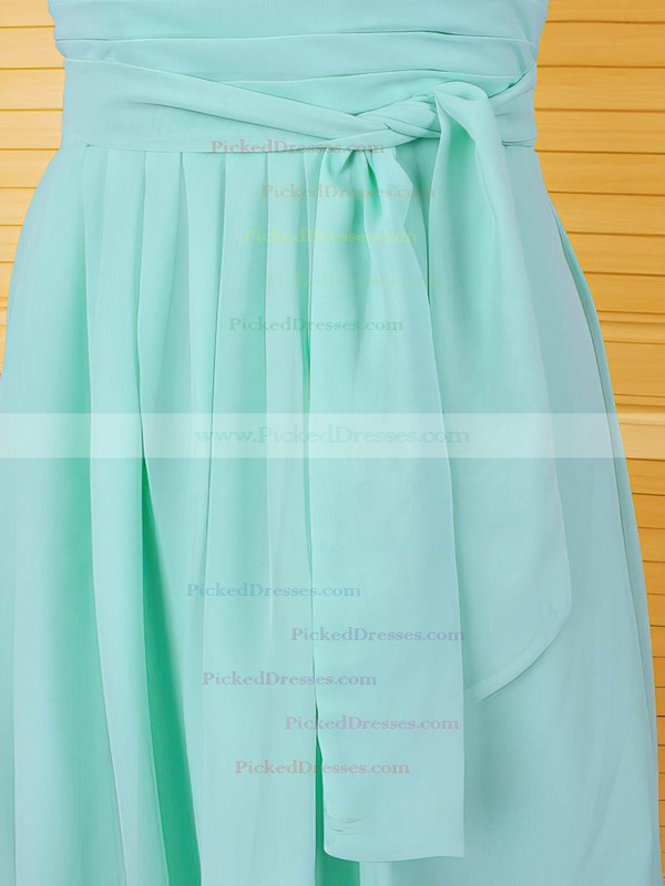 Cute A-line Chiffon Ruffles Cap Straps Knee-length Mother of the Bride Dress #PDS01021611
