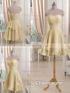 Sweetheart Short/Mini Pink Chiffon Ruffles Boutique Bridesmaid Dresses #PDS01012513