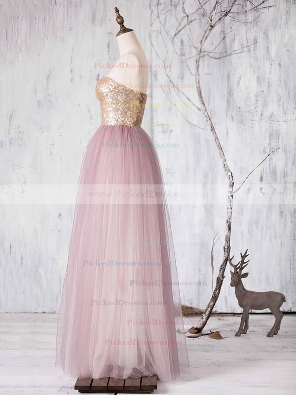 Multi Colours Tulle Sashes / Ribbons Sweetheart Princess Designer Bridesmaid Dresses #PDS01012727