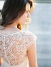 Elegant Lace Sashes / Ribbons Short/Mini Sheath/Column V-neck Bridesmaid Dresses #PDS01012752