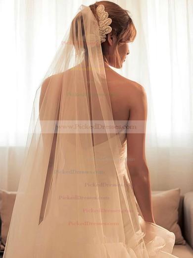 Trumpet/Mermaid Sweetheart Organza Sweep Train Backless Unique Split Front Wedding Dresses #PDS00022589
