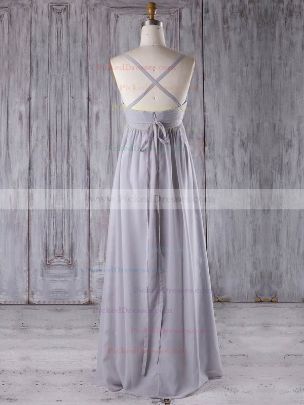 Empire Sweetheart Floor-length Chiffon with Sashes / Ribbons Bridesmaid Dresses #PDS01013277