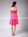 Chiffon Empire V-neck Knee-length Ruffles Bridesmaid Dresses #PDS02042140
