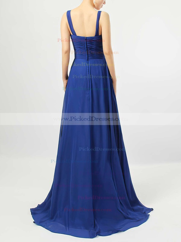 Empire Sweetheart Chiffon Floor-length Criss Cross Bridesmaid Dresses #PDS01013545