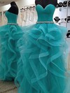 Boutique Princess Sweetheart Tulle with Floor-length Prom Dresses #PDS020103650