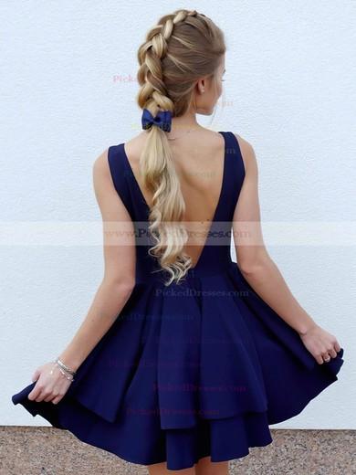 Princess V-neck Short/Mini Tiered Prom Dresses #PDS020106325