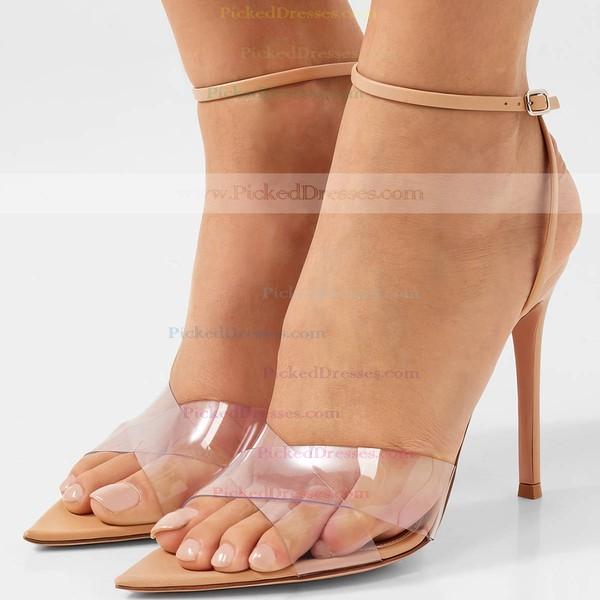 Women's Pumps Stiletto Heel Leatherette Wedding Shoes