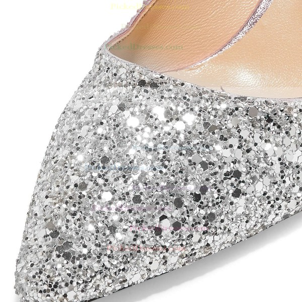 Women's Pumps Kitten Heel Sparkling Glitter Wedding Shoes