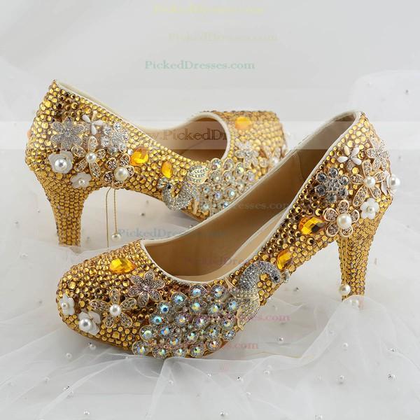 Women's Pumps Cone Heel Leatherette Wedding Shoes