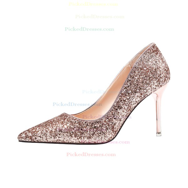 Women's Closed Toe 3 inch-3 3/4 inch Stiletto Heel Shoes