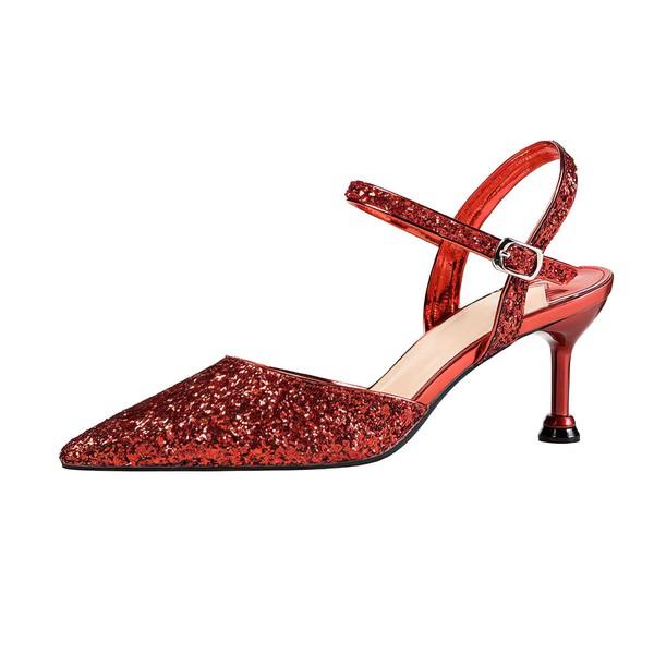 Women's Pumps 2 inch -2 3/4 inch Kitten Heel Shoes #PDS03030936