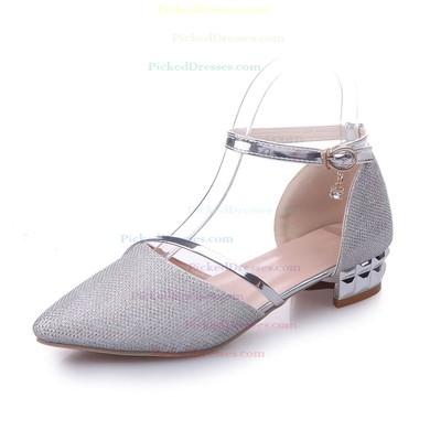 Women's Pumps 1 inch-1 3/4 inch Flat Heel Shoes #PDS03030946