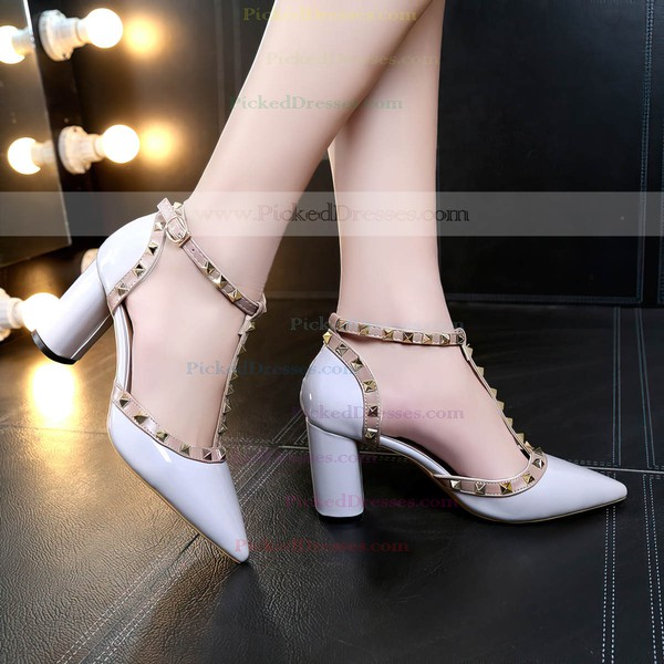 Women's Pumps 3 inch-3 3/4 inch Chunky Heel Shoes