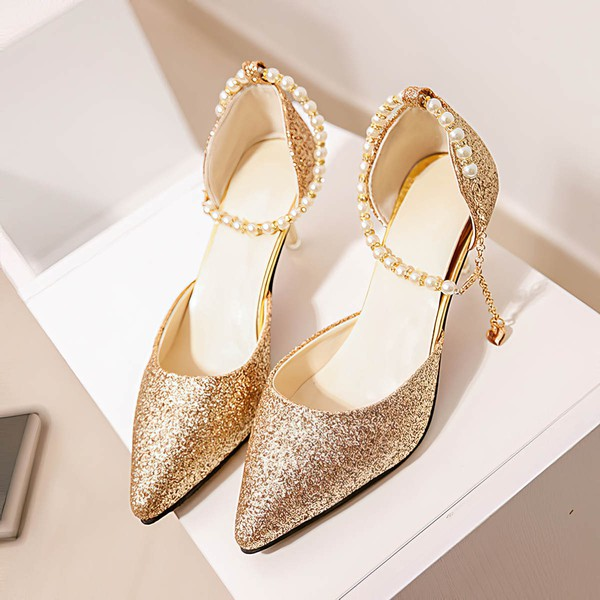 Women's Pumps 3 inch-3 3/4 inch Stiletto Heel Shoes #PDS03030948