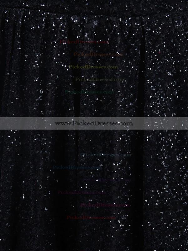 Ball Gown V-neck Sweep Train Glitter Pockets Prom Dresses #PDS020106505